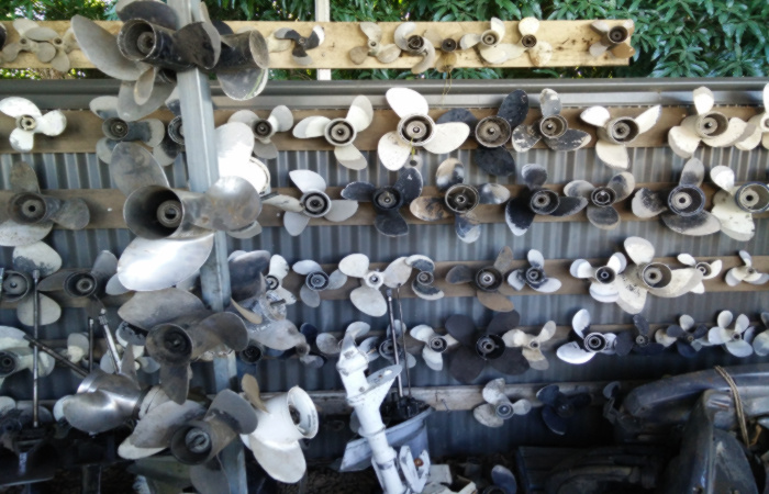 bowmans marine stock propellers secondhand bundaberg